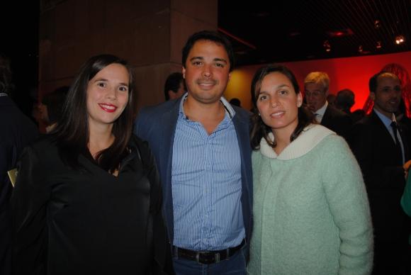Analía Migues, Fabián Ramírez, Lorena Garín.