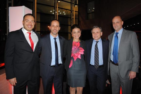 Germán Alvariza, Jorge Vargas, Soledad Rodríguez, José Zabalza, Javier Piñeyrúa.