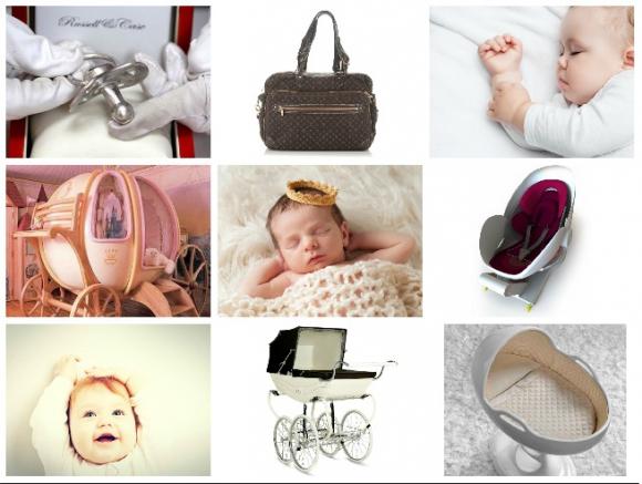 Los productos para bebés son cada vez más sofisticados y exclusivos.