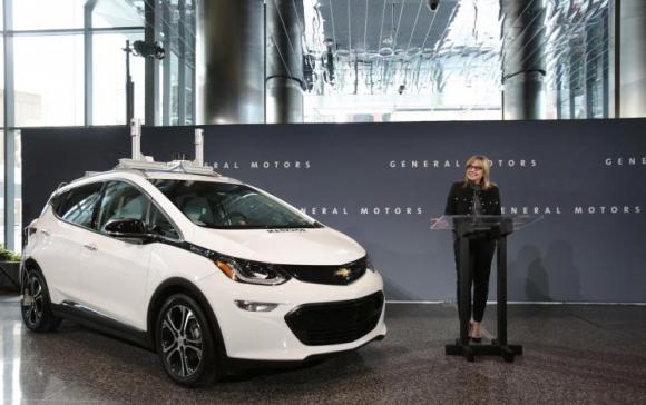 El fabricante ha ampliado su flota de Chevrolet Bolt sedán eléctrico con características autónomas.