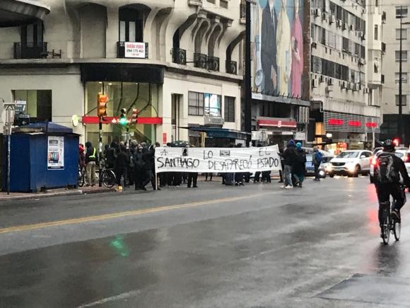 Marcha por Santiago Maldonado. Foto: Mariana Malek