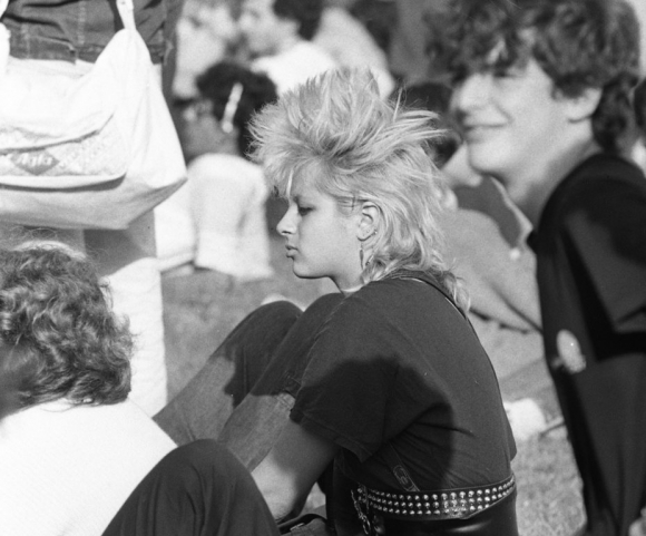 Montevideo Rock  en 1986. Foto: Gabriel Rodríguez