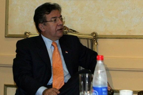 Nicanor Duarte en 2008. Foto: AFP.