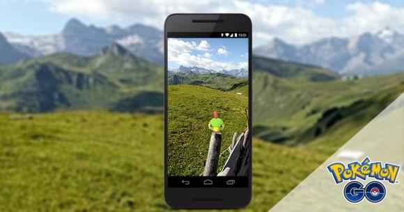 Concurso de fotografía de realidad aumentada de Pokémon Go. Foto: pokemongolive.com