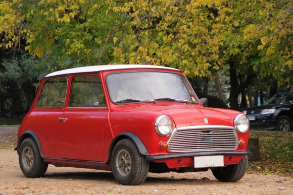 El Austin Mini 850 o Austin Seven fue diseñado a fines de la década de los cincuenta. Foto: Flickr