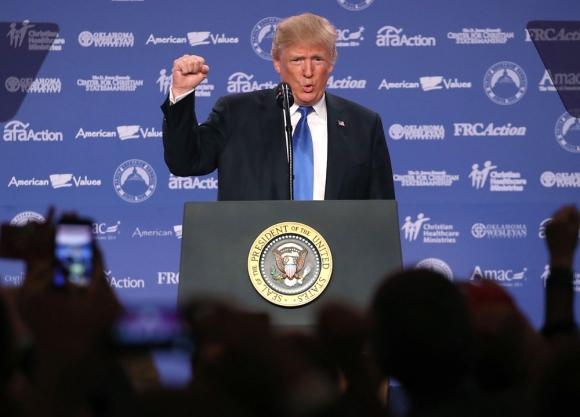 Donald Trump. Foto: AFP