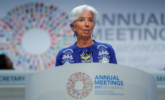 Christine Lagarde, directora del Fondo Monetario Internacional. Foto: EFE
