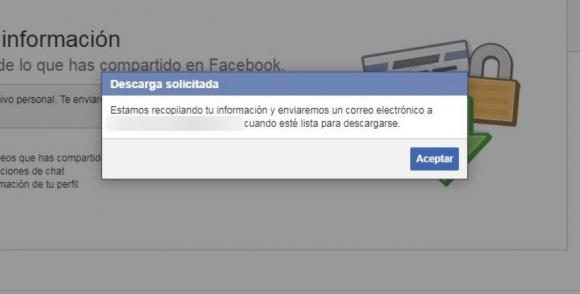 Recuperar datos en Facebook. Foto: Captura Facebook