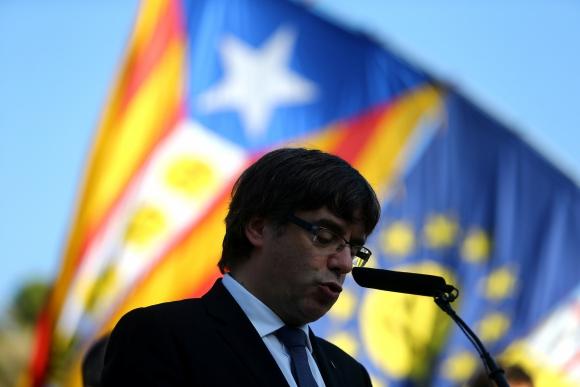 Puigdemont. Foto: REUTERS