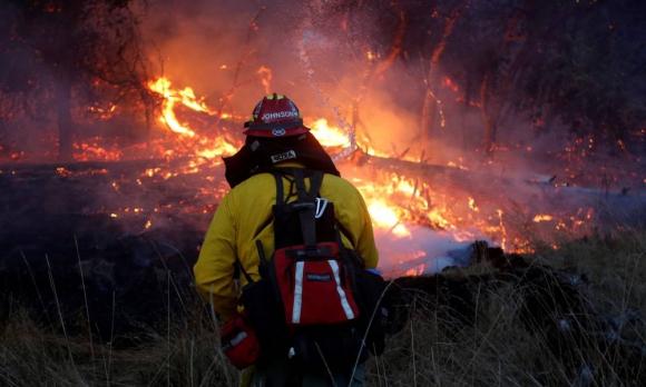 Han fallecido 40 personas en los incendios de California hasta el momento. Foto: Reuters