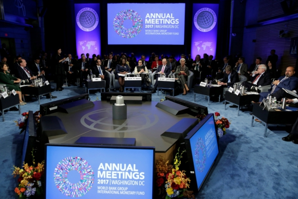 FMI y Banco Mundial hicieron sus reuniones anuales en Washington. Foto: Reuters