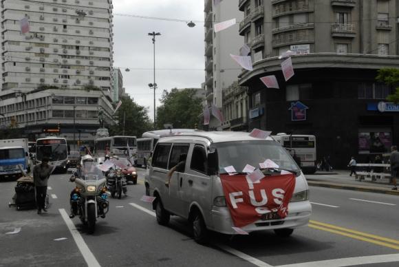 La FUS va a parar el 1° de noviembre. Foto: archivo El País
