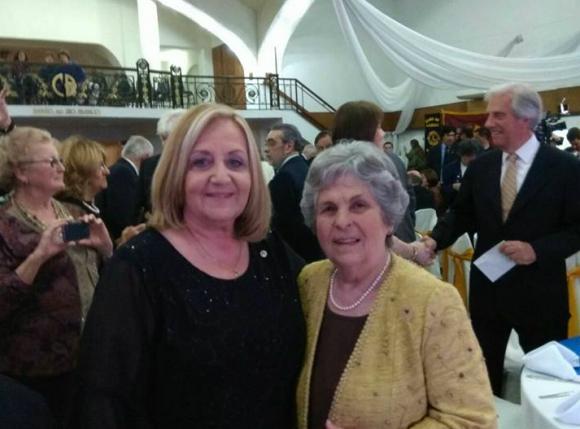 Participó de la ceremonia el presidente y su esposa María Auxiliadora. Foto: Facebook Ricardo Santiago