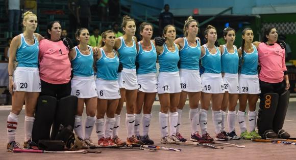 Selección uruguaya de hockey. Foto: PanamHockey.