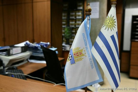 Asociación Uruguaya de Fútbol. Foto: Marcelo Bonjour