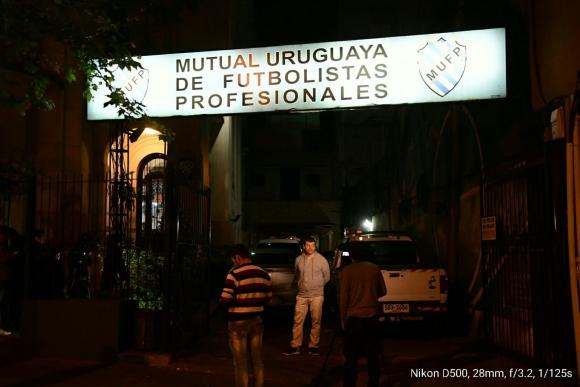 La sede de la Mutual Uruguaya de Futbolistas. Foto: Marcelo Bonjour
