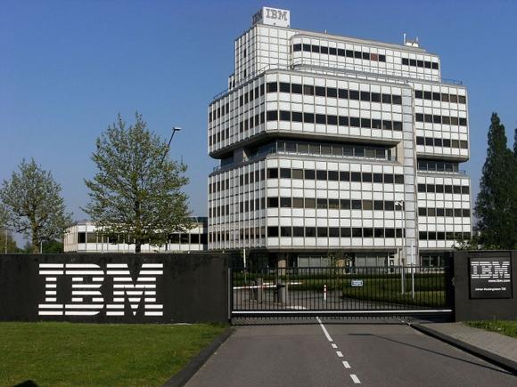 Edificio de IBM en la ciudad de Amsterdam. Foto: Wikimedia Commons