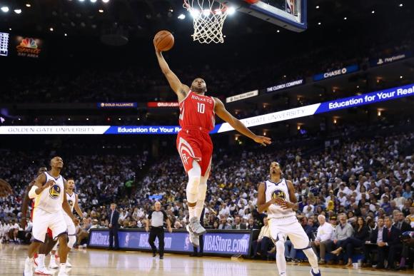 Houston Rockets venció a Golden State Warriors.