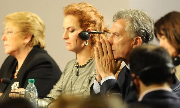 Mauricio Macri en la la Conferencia Mundial sobre Enfermedades No Transmisibles (ENT). Foto: Darwin Borrelli
