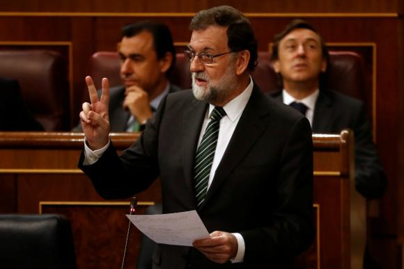 """""""Actúe con sensatez"""", le pidió Rajoy a Puigdemont. Foto: Reuters"""