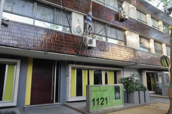 Sede de Interpol en Montevideo. Foto: Archivo El País.