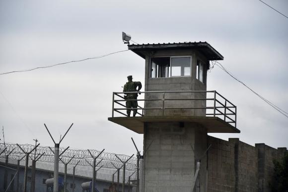Recorrida por la nueva cárcel de Punta de Rieles. Foto: Fernando Ponzetto