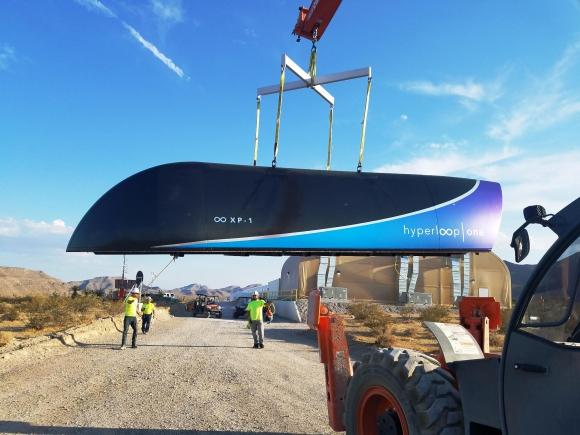 Alta velocidad. Las cápsulas de pasajeros se desplazarán a propulsión eléctrica.
