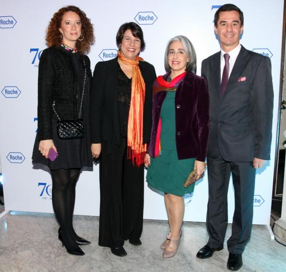 Carolina García, Deyanira Dolinsky, Virginia Becerra, Marcelo Holanda.