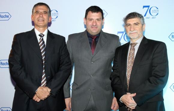 Germán Dacunda, Diego Branca, Daniel Ciriano.
