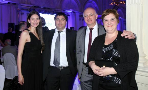 Ingrid Lima, Mariano Faruelo, Carlos Bandelli, Sandra Icasuriaga.