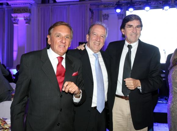 Juan Carlos Paullier, Pedro Kasdorf, Mario Varangot.