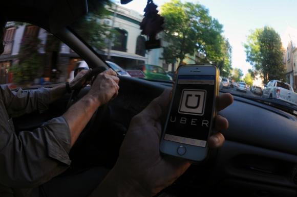 Líder: Uber es la aplicación que tiene más conductores. Foto: F. Ponzetto