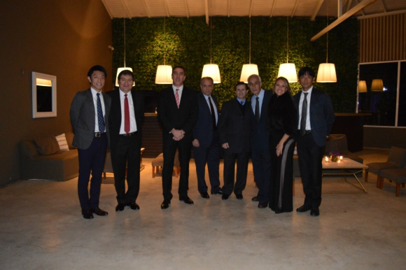 Sr. Yoshri, Adrián Gagó, Rafael de Arteaga, Guillermo Moramarco, Ruben Gómez, Fernando Tommasino, Ximena Lista, Sr. Sasaki.