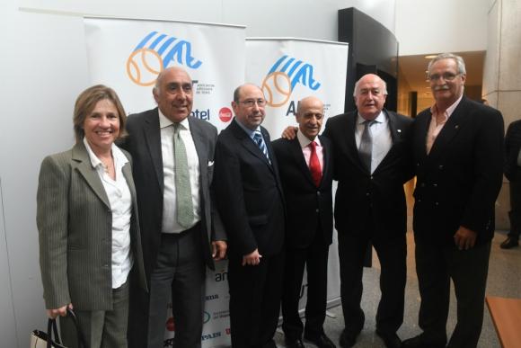Uruguay Bowl. Las autoridades en el lanzamiento oficial. Foto: Ariel Colmegna