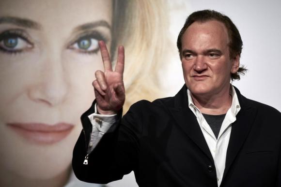 Quentin Tarantino. Foto: AFP