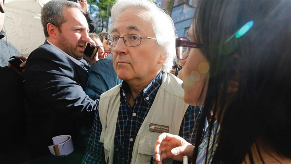 Alejandro Inchaurregui, perito de parte de la familia Maldonado. Foto: La Nación.
