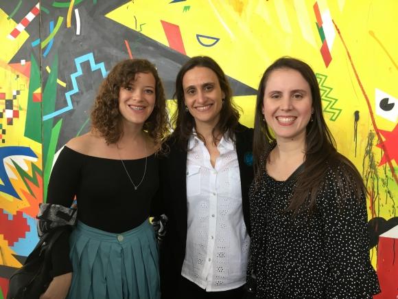 Cristina Bonifacino, Selma Bension, Nohely Hernández.