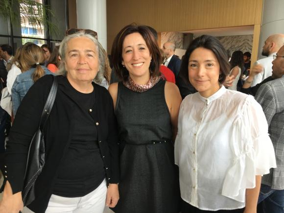 Ita Heber, Lucía Tedeschi, Cecila de la Vega.