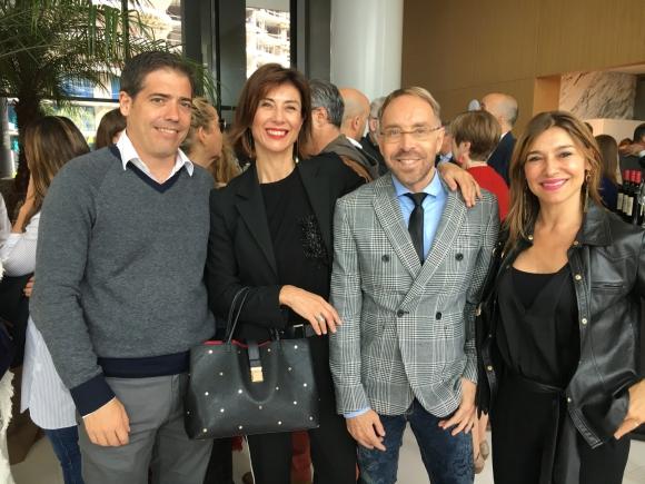 Sebastián Barbosa, Gimena de los Ríos, Juan Carlos Areoso, Sylvana Caporale.