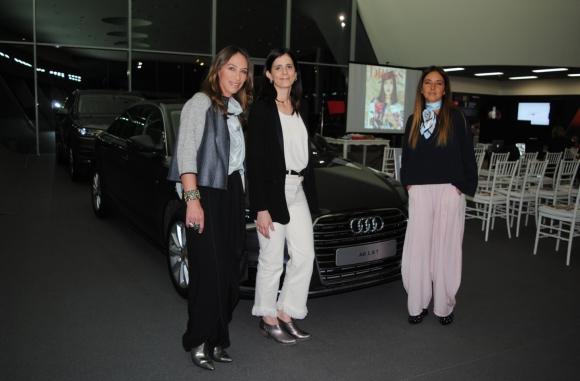 Elaiza Pozzi, María Eugenia Pérez, Mariana Weissman.