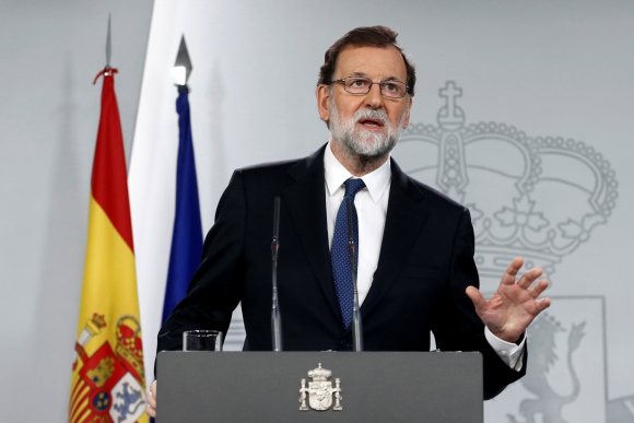 Mariano Rajoy en conferencia de prensa. Foto: Reuters