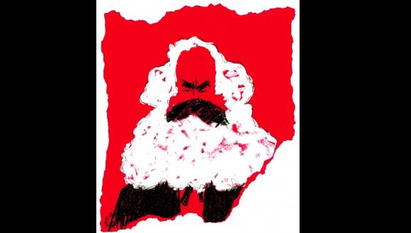 Karl Marx por Arotxa