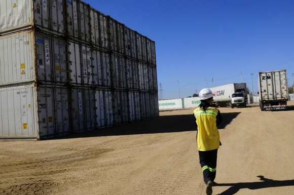 Diversificación: brinda servicios marítimos, portuarios y logísticos. Foto: archivo El País