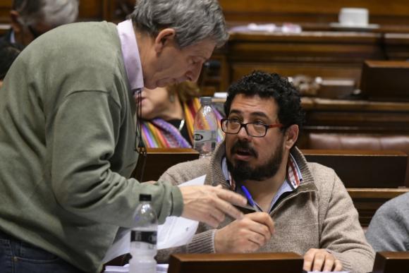 Alejandro Sánchez, diputado del Frente Amplio. Foto: Ariel Colmegna.