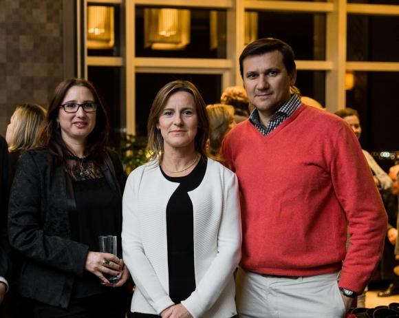 Laura Giménez, Ana Pesce, Mario Nieto.