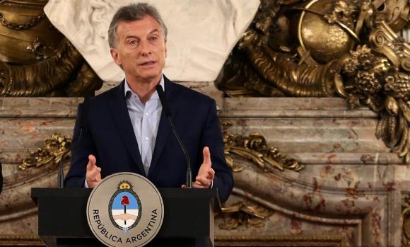 El presidente ayer en conferencia de prensa luego del triunfo. Foto: Reuters