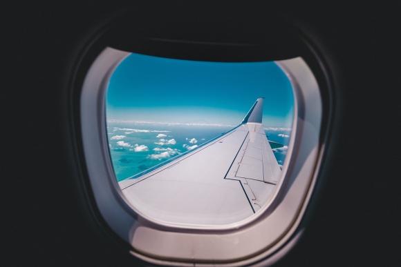 Ventanilla de avión. Foto: Pixabay