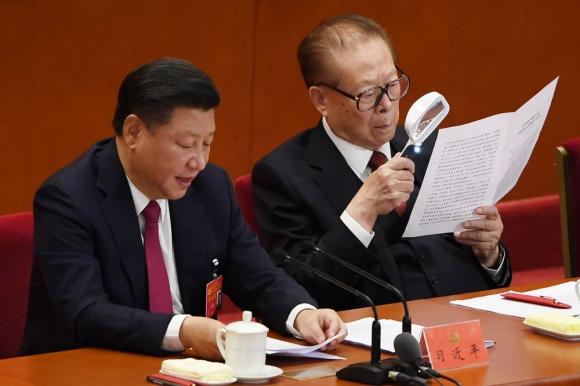 Xi ayer martes en el Gran Palacio del Pueblo de la plaza de Tiananmen. Foto: AFP