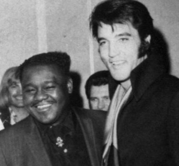 Elvis y Fats Domino