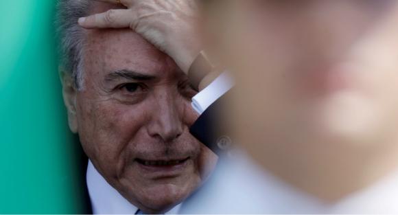 Temer sería dado de alta en esta misma jornada. Foto: Reuters